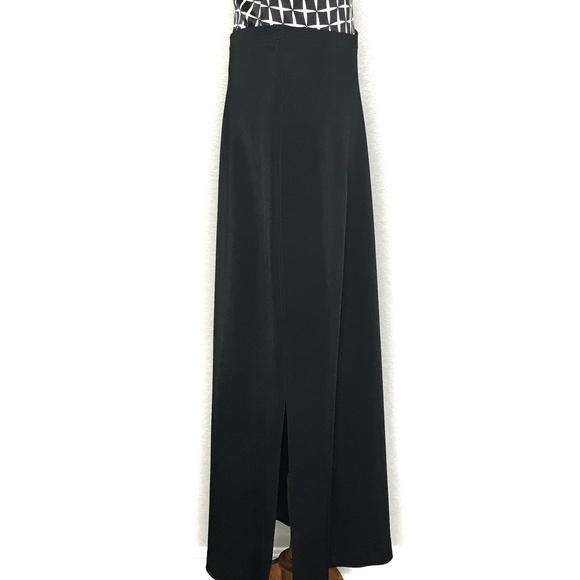 Cache Dresses & Skirts - Cache Black Side Slit Thick Maxi Skirt A130332